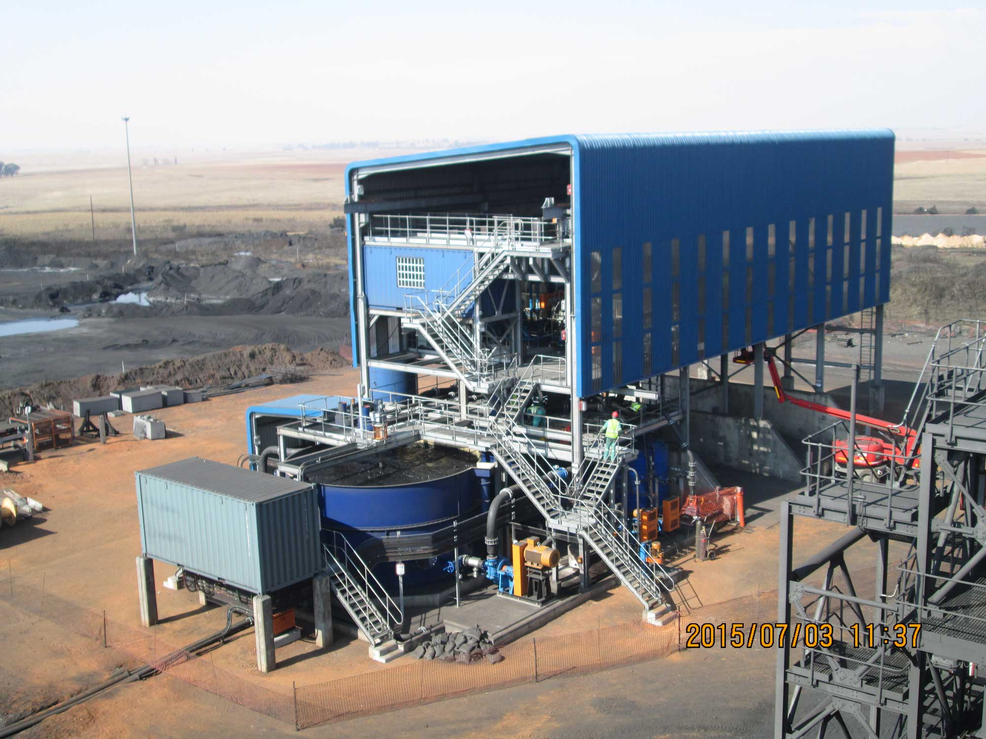Keaton Energy filter plant completed